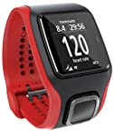TomTom Runner CardioGPS Activity Tracker Watch (Black and Red)