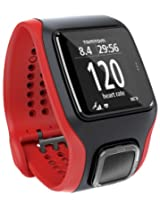 TomTom Runner CardioGPS Sports Watch (Black and Red)