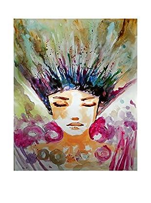 Legendarte Pintura al Óleo sobre Linezo Esplosione Di Primavera