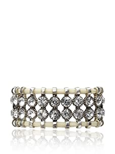 Rolf Bleu Montana Bold Collection Adjustable Bracelet (White)