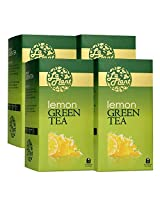 LaPlant Lemon Green Tea - 100 Tea Bags (Pack of 4)