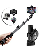 ENRG Selfie Stick YUNTENG YT 188 Self-portrait Monopod with Bluetooth Remote with Stick Clip