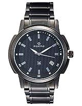 Maxima Attivo Analog Black Dial Men's Watch - 22570CMGB