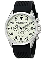 Stuhrling Original Analog Champagne Dial Men's Watch - 600.01