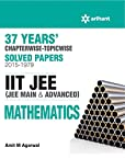 37 Years Chapterwise Solved Papers (2015-1979): IIT JEE - Mathematics