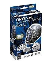 Original 3D Crystal Puzzle - Black Skull