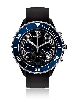 K&BROS Reloj 9174 (Negro / Azul)