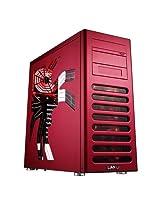 LIAN LI PC-8FIR Red Aluminum ATX Mid Tower Computer Case