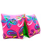 Play Day Ages 3 6 Pink Butterfly Armband Water Wings