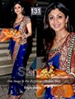 Shilpa shetty sarees - Bollyw3000ood Replica Shilpa Shetty Blue Saree