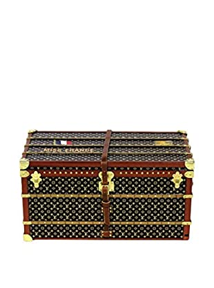 Louis Vuitton Vintage Monogram Mini Trunk Paperweight, Brown/Gold