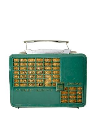 Vintage Stewart Warren Radio, Green