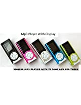 Jxt Mp3 Multimedia Player With DisplayTorchEarphoneUsb Data Cable