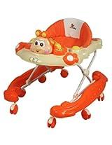 Sunbaby Dimple Cheeks Walker (Orange)
