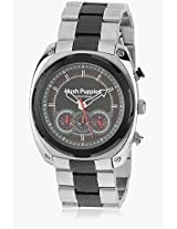 Hp.6047M.1517 Two Tone/Grey Chronograph Watch Hush Puppies