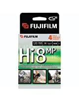 Fuji HI 8 MP P6-120 Camcorder Recordable Video Cassette Tapes (4-pack) (Discontinued by Manufacturer)