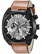 Diesel End-of-Season Overflow Analog Grey Dial Men's Watch - DZ4317