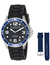 Stuhrling Original Analog Black Dial Men's Watch - 675.02SET