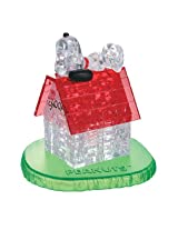 3D Crystal Puzzle Snoopy and House