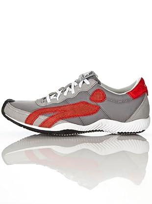 Cushe - Zapatillas de deporte para hombre (Gris (Grau (Grau/Rot)))