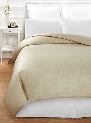 Home Treasures Albert Duvet (Gold/Blue)