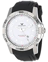 Viceroy Men's 47669-05 Visept11 Round Stainless Steel White Dial Date Watch