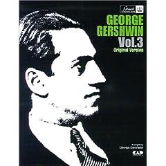 ジョージ・ガーシュウィン 3 オリジナルヴァージョン (楽譜)の商品写真