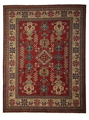 Darya Rugs Kazak Oriental Rug, Red, 7' 3