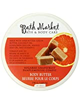 Bath Market Sugared Grapefruit Body Butter, 6.8-Ounce (Pack of 3)