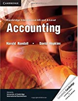 Cambridge International AS and A Level Accounting (Cambridge International Examinations)