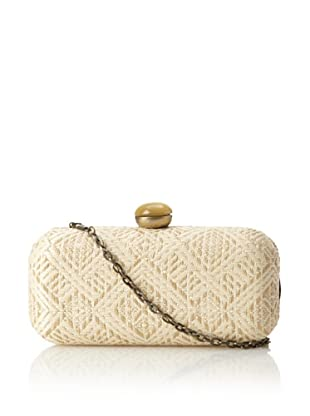 Urban Expressions Women's Malibu Clutch, Cream