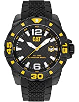 Caterpillar Analogue Black Dial Men's Watch - PT.161.21.137