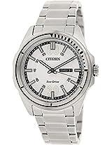 Citizen Analog Black Dial Mens Watch-AW0030-55A