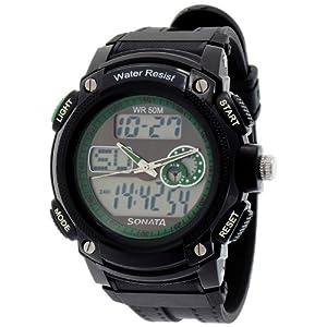 Sonata Ocean Series Analog-Digital Multi-Color Dial Men's Watch - NE7989PP04J