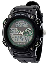 Sonata Ocean Series Analog-Digital Multi-Color Dial Men's Watch - NE7989PP04J