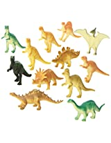 Rhode Island Novelty Assorted Dinosaurs Toy, 12-Pack
