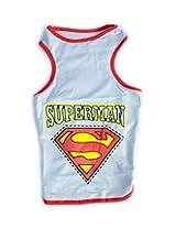 Superman Dog T-Shirt-XL