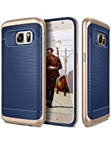 Galaxy S7 Case, Caseology® [Wavelength Series] Textured Pattern Grip Cover [Navy Blue] [Shock Proof] for Samsung Galaxy S7 (2016) - Navy Blue