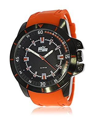 Pit Lane Uhr mit Miyota Uhrwerk Pl-2002-3 orange 45 mm