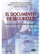 El documento de seguridad: análisis técnico y jurídico: 1