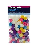 Darice Pom-Pom Bright Beads (90 Pack)