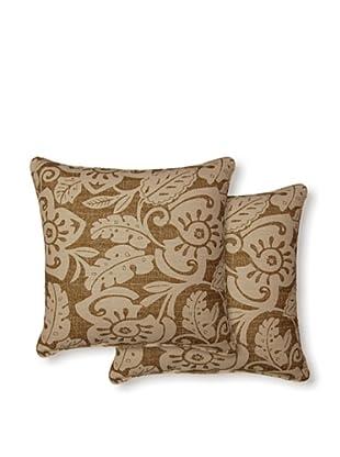 Dakota Set of 2 Amazon Pillows (Flax)