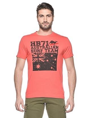 Hot Buttered Camiseta Australia (Rojo)