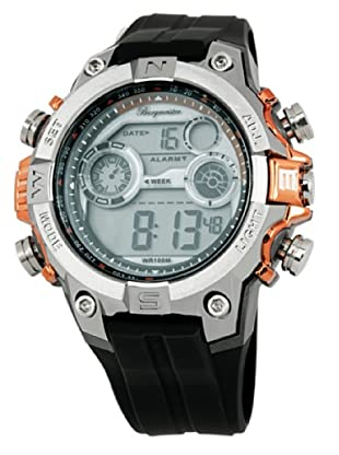 Burgmeister Herren-Armbanduhr XL Digital Power Silikon BM800-112B