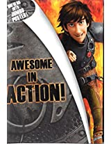 How to Train Your Dragon 2 Jumbo Poster Birthday Card