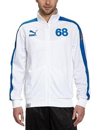 Puma Trainingsjacke Football Archives T7 (white-team power blue-figc)