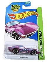 Mattel Hot Wheels 2014 Hw Workshop 214/250 Heat Fleet 69 Corvette