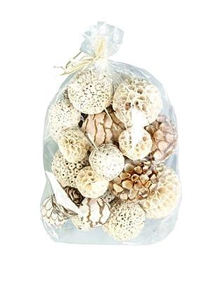 Set of 26 Natural Dried Flower Filler Balls