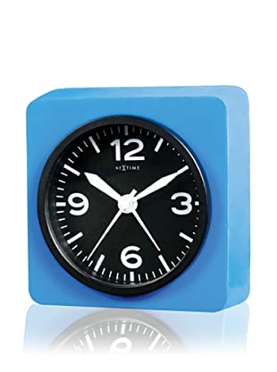 NeXtime Real Time Silly Table Clock (Blue)