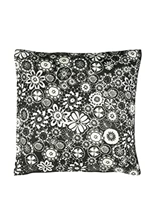 Miss Blackbirdy Flower Print Pillow Cover
